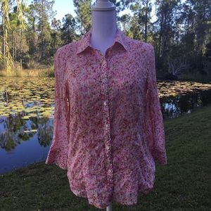TALBOTS WOMENS 2-pc BLOUSE SIZE 8